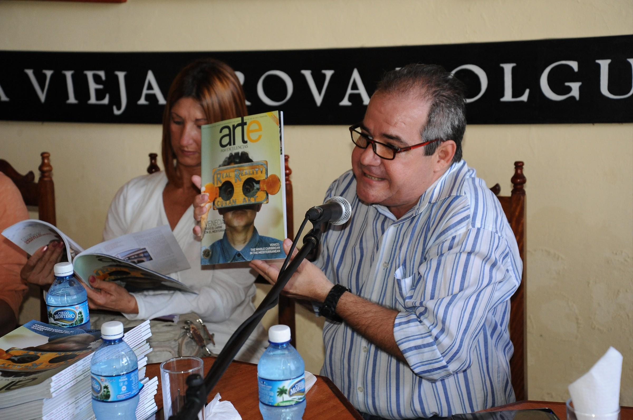 Conferencia Malakhov, Casa de La Trova. Fotos: Carlos Rafael