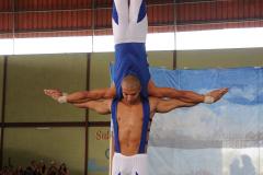 Las interpretaciones circenses no se ausentaron al espectáculo Foto Carlos Rafael