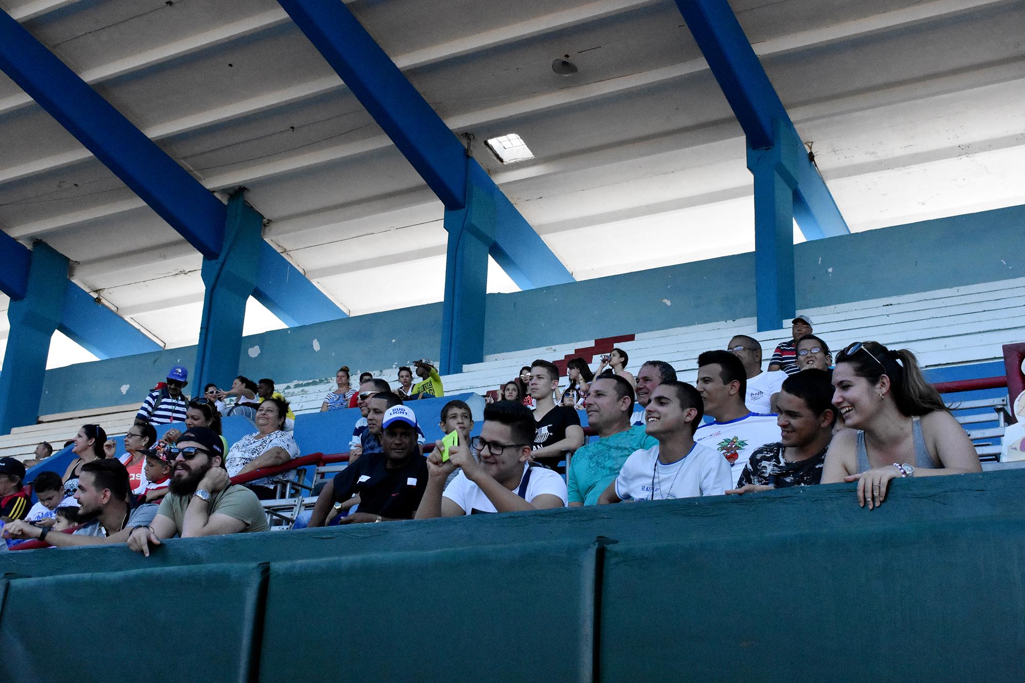 Sin dudas uno de los mejores espectáculos dentro del Satiricón es la realización de este encuentro deportivo. Fotos Ernesto Herrera