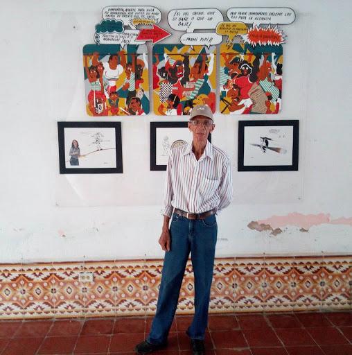 A Lauro la pedagogía lo atrapó hace varios años. Foto del autor
